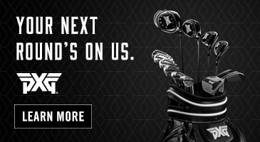 Your Next Round's on Us. PXG. Learn More.